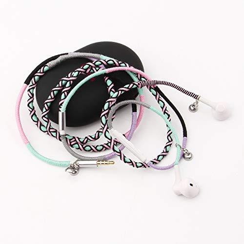 URIZONS cascos, auriculares con cables Sonido Estéreo para Móvil, MP3/MP4, tabletas portátiles...