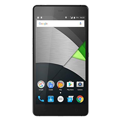 Mobiwire Tala 4G 5,5 Zoll FHD Bildschirm Smartphone mit Mediatek Helio P10 Octa Core Dual Corning Glas 3GB RAM + 32GB ROM 3000mAh Schwarz