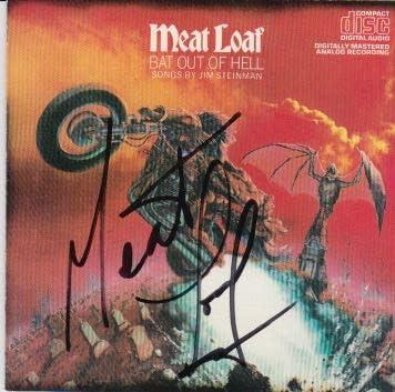 Direct sale of manufacturer Meatloaf signed Ranking TOP10 CD