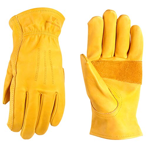 Wells Lamont Premium Leather Work Gloves, Large (1209L)