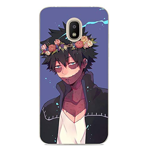 Slim Clear Anti-Yellowing TPU Cover Anti-Shock Soft Silicone Case for Samsung Galaxy J7 2018-Anime My Hero-Academia 8