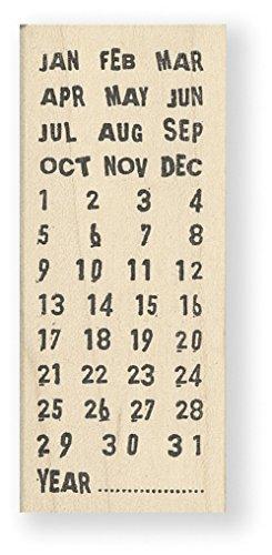 Tampon en caoutchouc - Calendar - Vertical - Cats Life Press 733 E