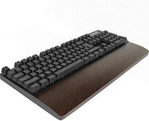 Walnut Wooden Keyboard Same day shipping Wrist Rest Ergonomic Desk Shipping included Gaming Pa