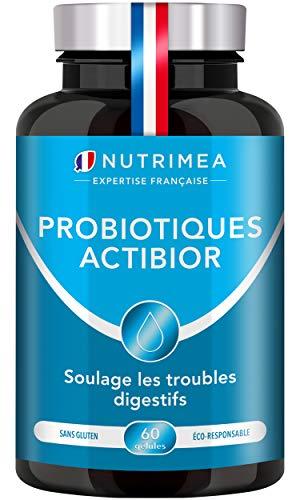 Probiotiques & Prébiotiques 30 Milliards UFC/jour | Formule unique made in France | 7 souches ciblées | Améliore la Digestion Microbiote intestinal | 60 gélules végétales gastro-résistantes | Nutrimea