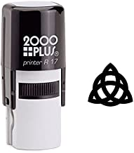 StampExpression - Celtic Knot Triquetra Self Inking Rubber Stamp - Black Ink (A-6159)