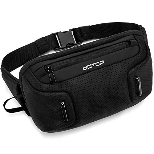 DOTOP Fanny Pack for Women Men Waist Bags Waterproof with 3-Zipper Pockets, Gifts for Enjoy Sports Festival Workout Traveling Running Casual Hands-Free Wallets Waist Pack Crossbody Phone Bag Carrying All Phones, Shoulder bag messenger bag