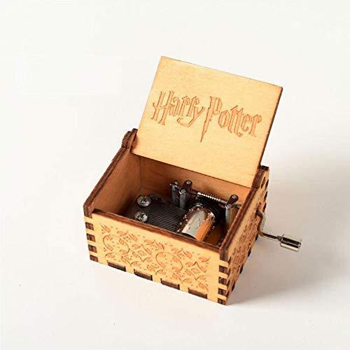 XIAOLUO Kreative handgekurbelte Spieluhraushölzernem Kunsthandwerkfür die Geburtstagsgeschenk