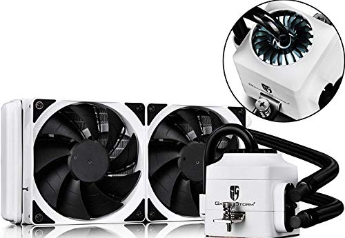 DEEPCOOL Captain 240EX White AIO Liquid CPU Cooler