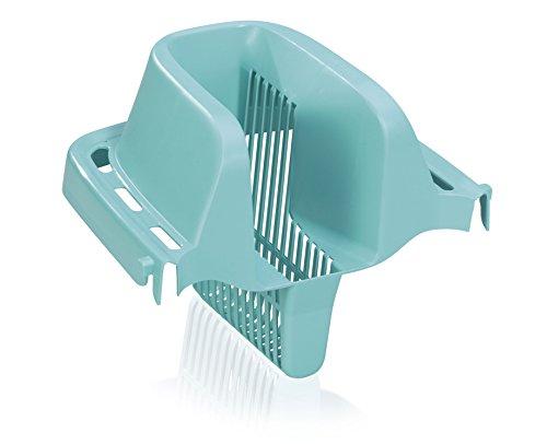 Leifheit Auspress-Sieb Combi für Bodenwischer Combi M und XL, passend für Leifheit Eimer Combi M und XL, komfortables Auspressen ohne Hände im Schmutzwasser und ohne Bücken