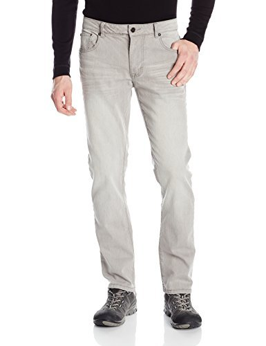 Bauer Slim Hockey Fit Denim pour Homme - Gris - 30 W/34 L
