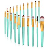 Make-up-Pinsel-Set, 20-teilig, für Puder, Grundierung, Lidschatten, Eyeliner, Lippen,...