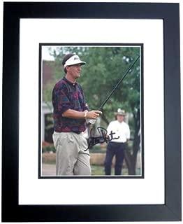 Steve Pate Signed - Autographed Golf 8x10 inch Photo BLACK CUSTOM FRAME