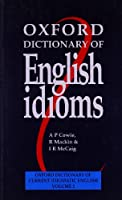 Oxford Dictionary of English Idioms: Paperback