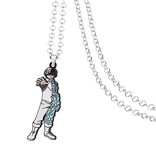 Anime Halsketten My Hero Academy Halskette Anhänger Halskette Schmuck Männer Frauen Halskette Anime Cosplay