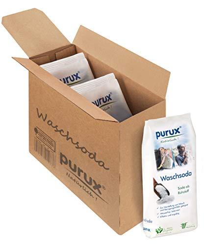 purux Waschsoda Pulver 3kg Natriumcarbonat nachhaltig verpackt