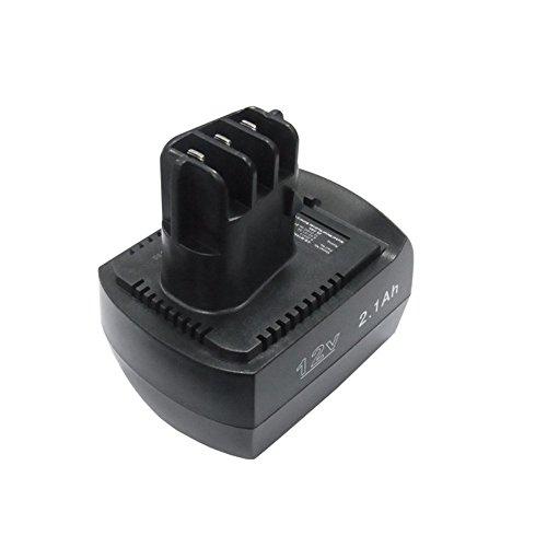 cellePhone Batterie Ni-MH Compatible avec Metabo BS 12 SP/BSZ 12 (Remplacement pour 6.02151.50) - 2100 mAh / 12V