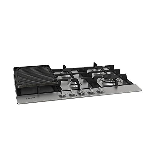 Ancona AN-21009 30' Gas Cooktop, Stainless Steel