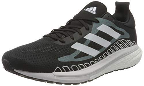 adidas Solar Glide ST 3 M, Zapatillas de Running Hombre, NEGBÁS/FTWBLA/OXIAZU, 42 2/3 EU