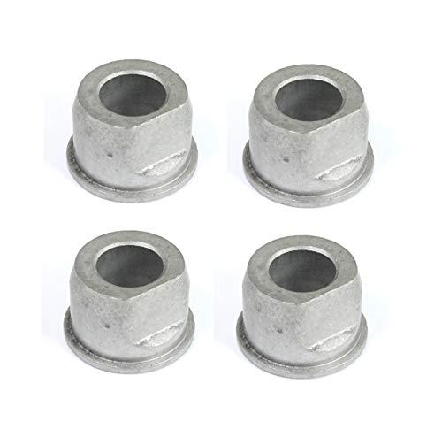 Set di 4cuscinetti flangia boccole () per 9040H, 532009040. Craftsman Poulan Husqvarna boccole, metallo, non plastica