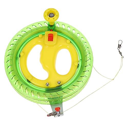 Abaodam Professional Outdoor Kite Linie Wickler Wickel Reel Griff Rad mit 200M Fliegen Linie String Fliegen Werkzeuge für Kinder Teens