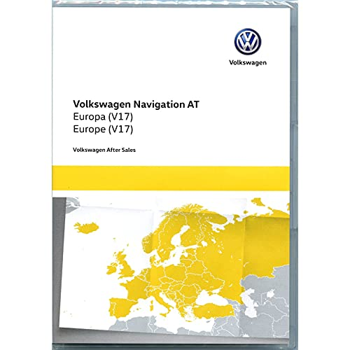 Volkswagen 5G0919866BD Kartendaten SD Karte Europa V17 Navi Update Navigationssystem Discover Media (nur System at, Generation 1, nur PR-Code 7RE)