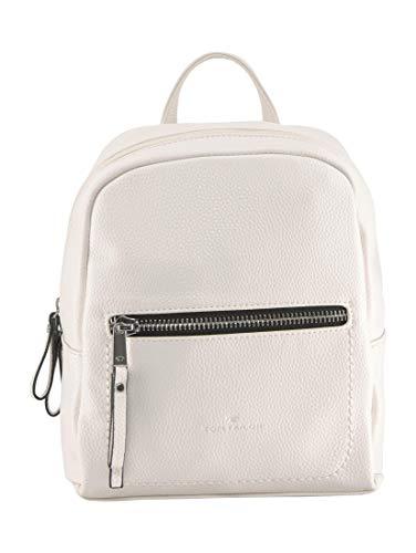TOM TAILOR Damen Taschen & Geldbörsen Rucksack TINNA Flash White,OneSize