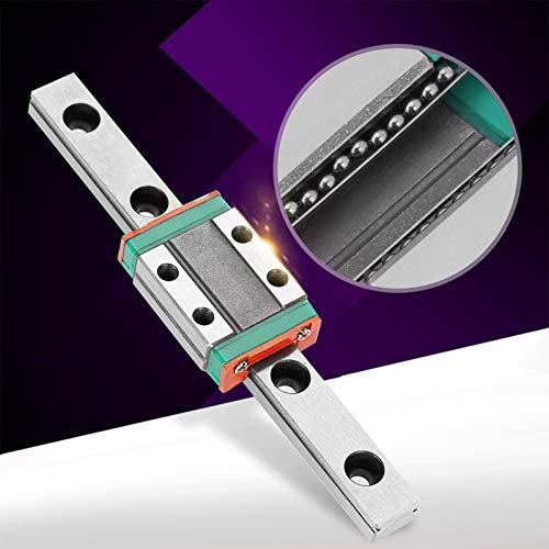 LML9B - Riel lineal de 9 mm de ancho + riel deslizante lineal sensible para equipos automáticos (100, 12)