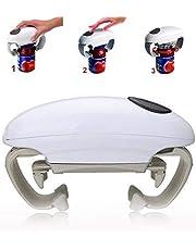 SCARVT Abridor de Tarros eléctrico automático, abrebotellas automático para Personas Mayores con Artritis, Manos débiles, abrebotellas para Manos artríticas