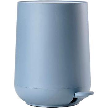 Zone Denmark Nova MülleimerAbfalleimer, Kosmetikeimer fürs Bad, 5 Liter, blau