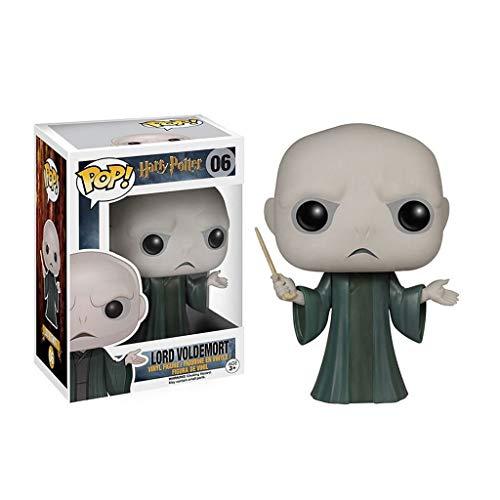 MMZ Harry Potter y Aficionados Piedra Filosofal Película Colección Lord Voldemort Pop Figura