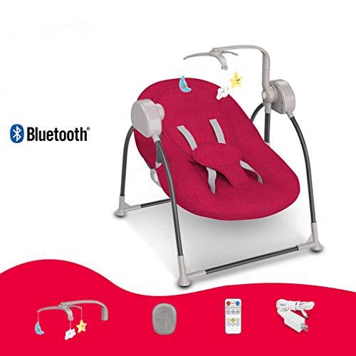 ZWQ kids Chaise berçante, Table Berceau Pliant bébé, Chaise Confort Nouveau-né endormi, Shaker Enfant, adapté pour 0-2 bébé,A