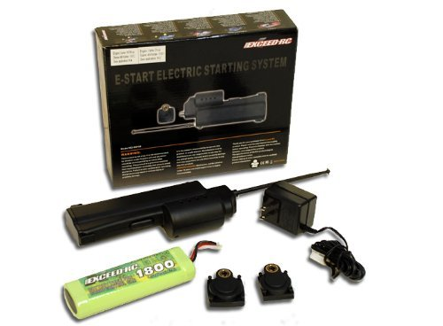 Electric Starter for 1/10th and 1/8th Exceed-RC Nitro RC Cars