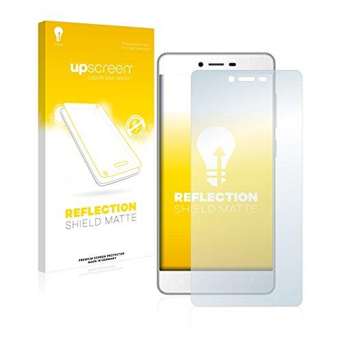 upscreen Entspiegelungs-Schutzfolie kompatibel mit Gionee F103 – Anti-Reflex Bildschirmschutz-Folie Matt