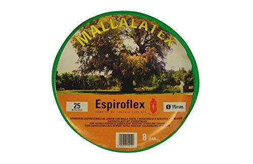 espiroflex mallalatex – tuyau, diamètre de 19 cm, 25 m, couleur vert