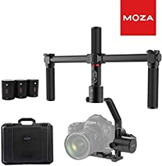♫Supported Cameras♫ With a maximum payload of 7.0 lbs (3.2 kgs), it can support all mirrorless cameras and most DSLRs,including Sony a7SII, Panasonic GH5, Canon EOS 5D Mark IV. ♫Portable and durable♫ The MOZA Air features advanced technology and high...