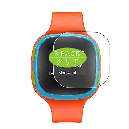 Vaxson Protector de pantalla compatible con Alcatel CareTime Smart Watch, protector de película HD [no vidrio templado] película protectora flexible