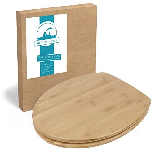 Calmwaters -  ® Wc Sitz Bambus,