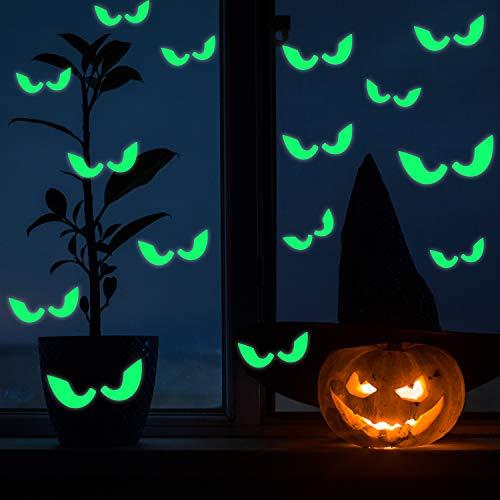 Pegatinas fluorescentes, brillan en la oscuridad