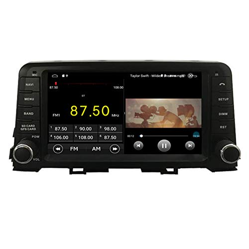 Autosion in Dash Android 10 Car DVD Player Radio Head Unit GPS Navi Stereo for Kia Picanto Morning 2017 2018 2019 Support Steering Wheel Control