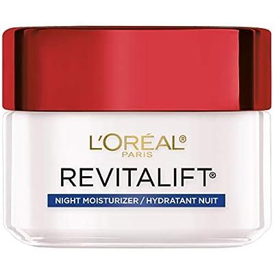 L'Oreal Paris, RevitaLift Anti-Wrinkle + Firming Night Cream Moisturizer 1.7 oz by Loral Paris
