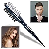 OUTERDO Hair Comb,Hair Styling Comb,Instant Hair Volumizer Portable Hair Styling Comb Multifuncional Combing Brush,Hair...