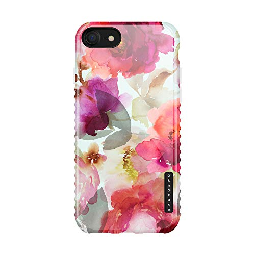 iPhone 8 & iPhone 7 & iPhone SE [2020 Released] Case Vintage Floral, Akna GripTight Series High Impact Silicon Cover for iPhone 7/8 & iPhone SE [2020 Released] (102024-U.S)