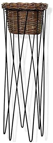 GDFEH Almacenamiento Rack Stand Stand Metal Flower Pot Pot Rack Decoración al Aire Libre Pantalla Soporte Estante Jardín Jardín Potes Estante para jardín Inicio Balcón Terraza Patio