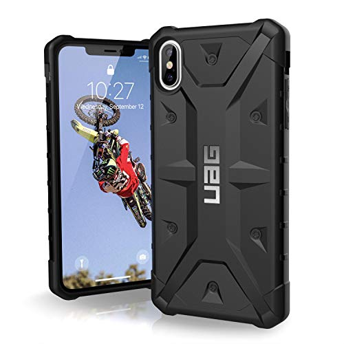 URBAN ARMOR GEAR UAG iPhone Xs Max [6.5' Screen] Pathfinder Feather-Light Rugged [Black] Military Drop Tested iPhone Case