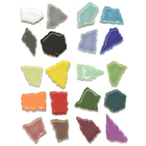 Unbekannt Flip Keramik - Farbmischungen Inhalt 3 kg, Farbe Bunt Mix