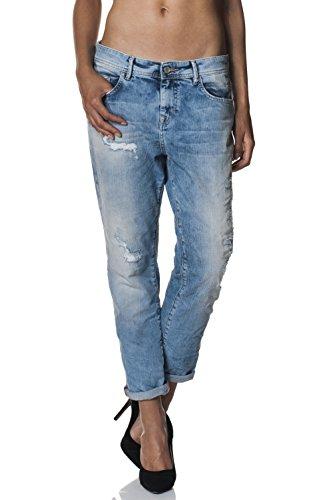 Salsa Baggy - Pantalones vaqueros para mujer azul 28W x 30L