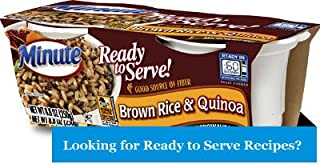 Minute Ready To Serve Brown Rice & Quinoa, 2/4.4 oz Cups