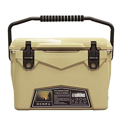 mita アイスランド クーラーボックス 20QT (18.9L) サンド/Sand 付属品付き 最長保冷5日間