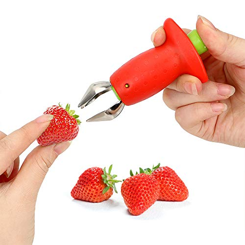 Strawberry Huller Knife for Fruit and Berries