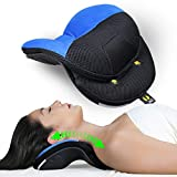 Neck-Relief M2 Neck Support - Neck and Shoulder Relaxer - Clinically Proven to Reduce Neck Tension & Muscle spasms - Cervical Neck Traction - Chiropractic Neck Pillow by Cervipedic